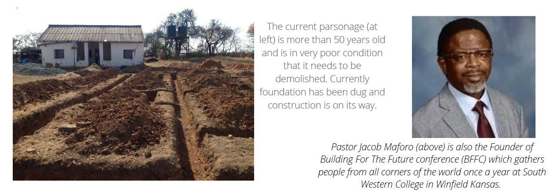 New Church Parsonage under construction!!