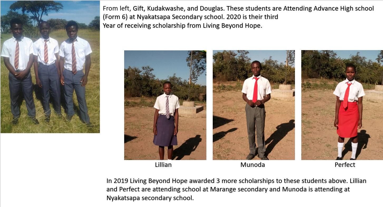 Meet our Scholarships recipients